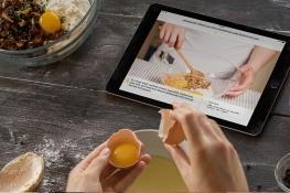 Cocina con tu iPad