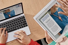 Comparte archivos con tu iPad