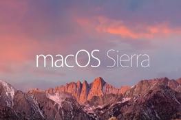 Novedades macOS Sierra