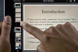 Presentaciones en el aula con Keynote